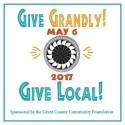 GIVE GRANDLY! on Saturday